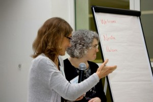 """Workshop on """"Risk and Security"""" led by Helena Menezes, RiskVision and Nicola Butler, Play England."""